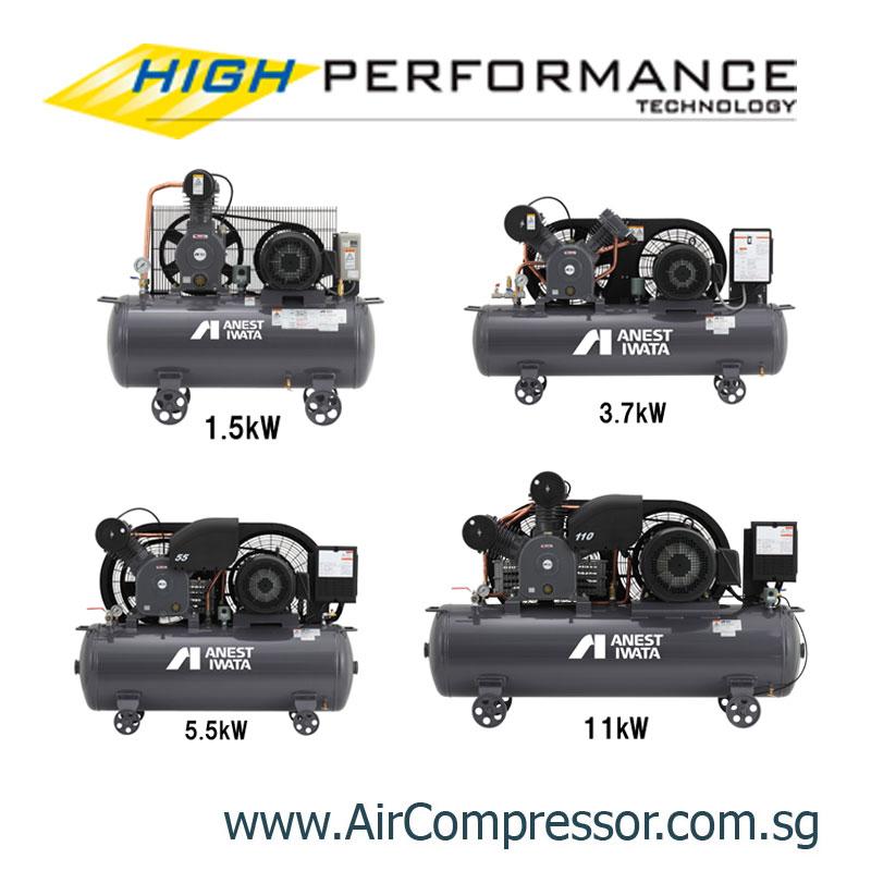 ANEST IWATA Piston Air Compressor | Reciprocating Air Compressor