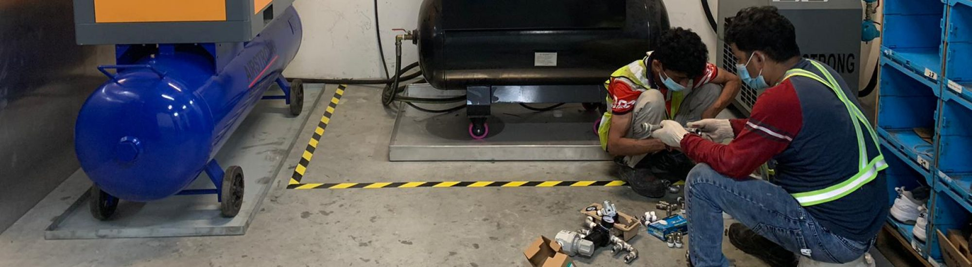 Use of Industrial Air Compressor
